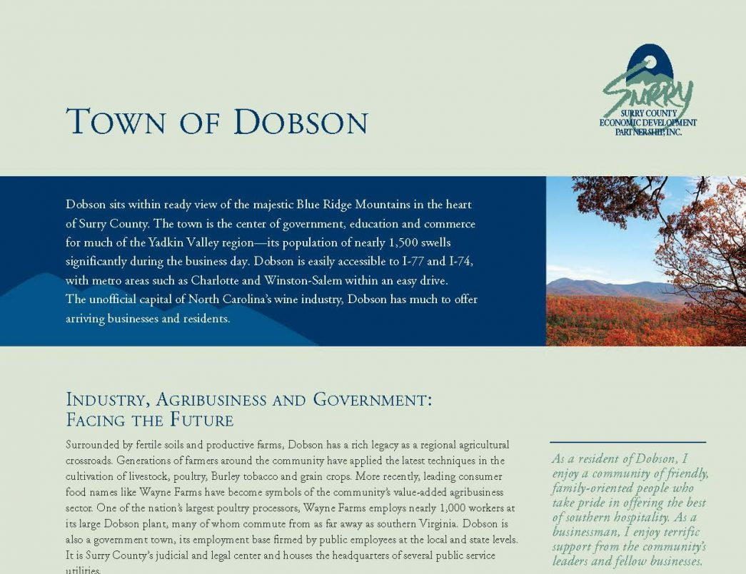 Dobson Brochure