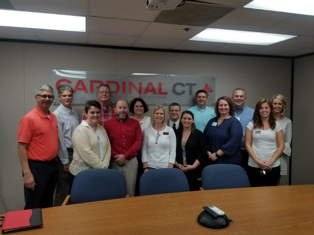Cardinal CT MFG DAY group picture