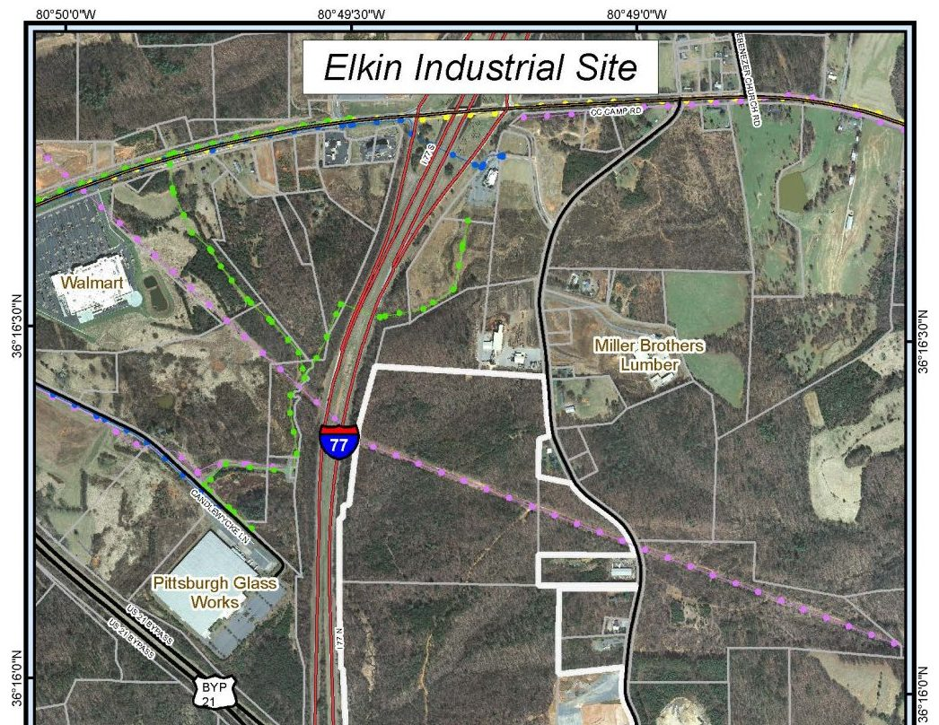 Elkin Industrial Site