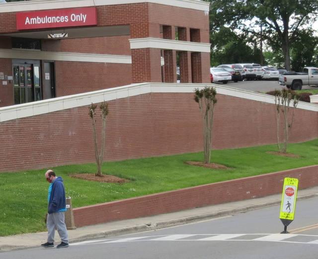 Hospital parking deck, building plans revealed