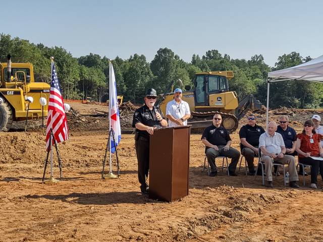 County breaks ground on new jail facility