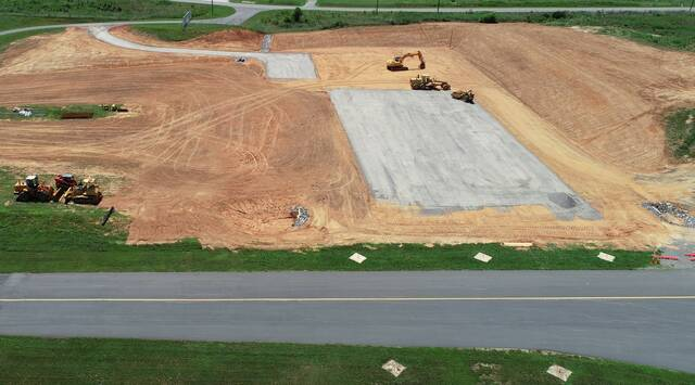 Airport lands state funds to finish taxiway